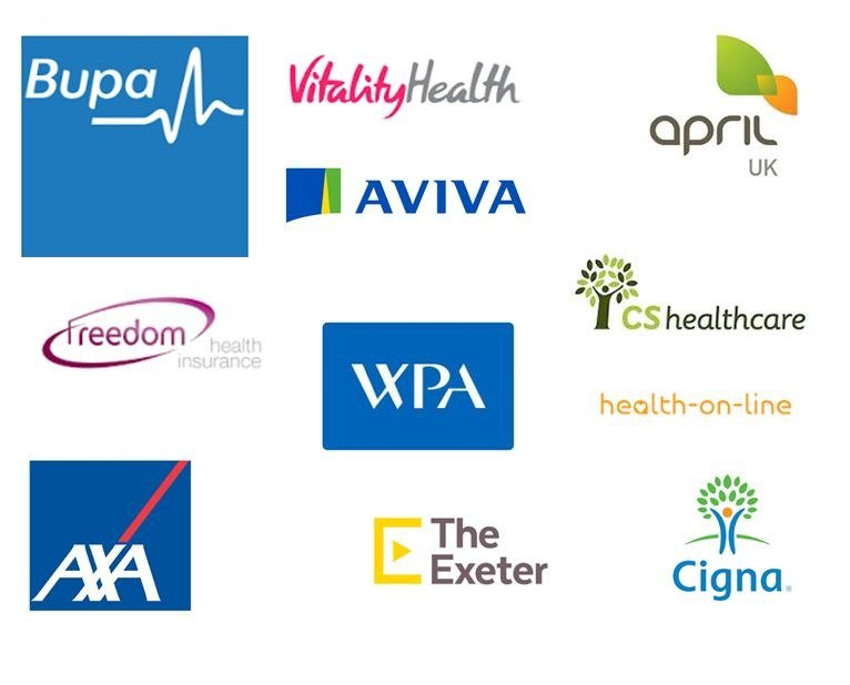 All Major UK Health Insurers
