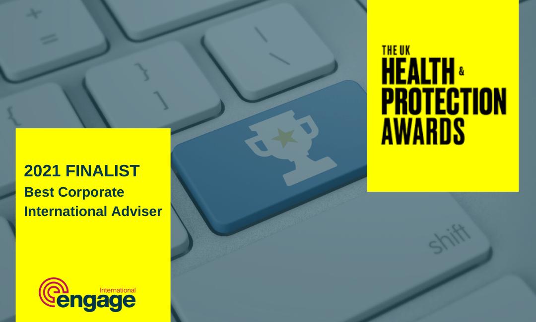 Engage International Health&ProetctionAwardsFinalist